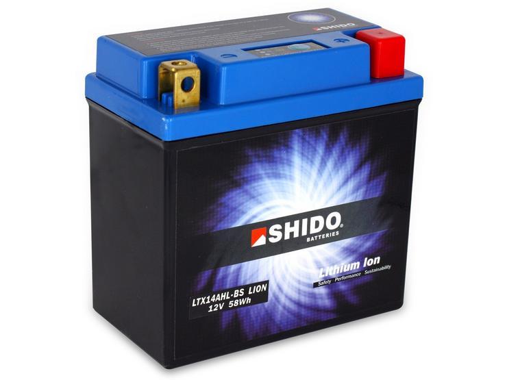 Shido Lithium Battery LTX14AHL-BS