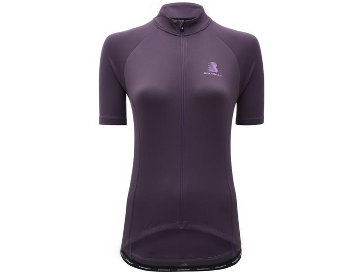 Boardman Womens Cycling Jersey - Plum