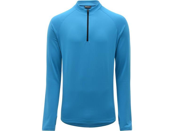 Ridge Mens Thermal Cycling Jersey - Blue