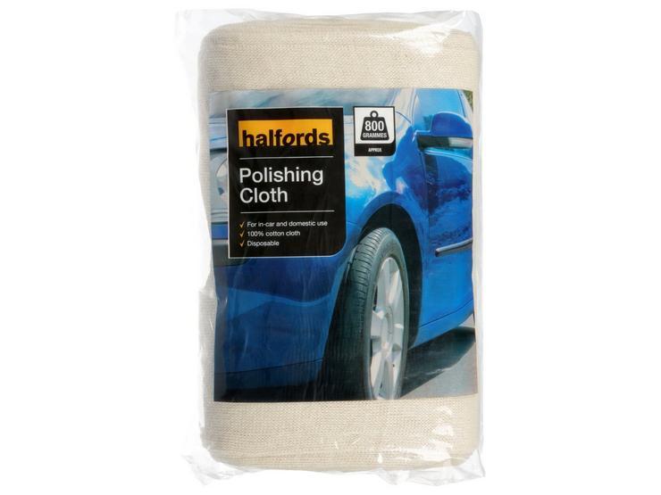 Halfords Car Polishing Cloth 800g