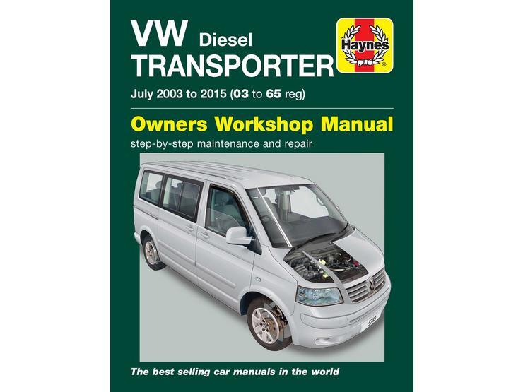 Haynes VW Transporter T5 Diesel (03-14) Manual