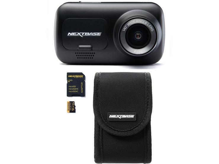Nextbase 222 Dash Cam, Carry Case & SD Card Bundle
