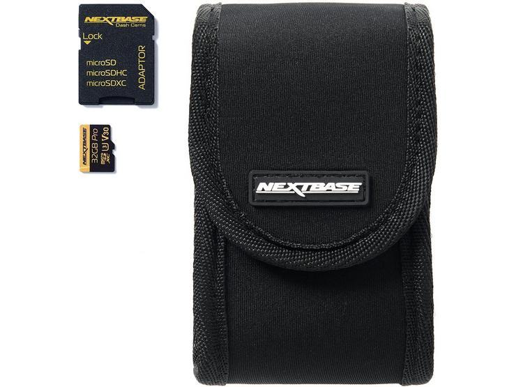 Nextbase Dash Cam Go Pack - With 32GB microSD Card