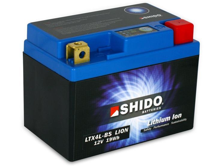 Shido Lithium Battery LTX4L-BS