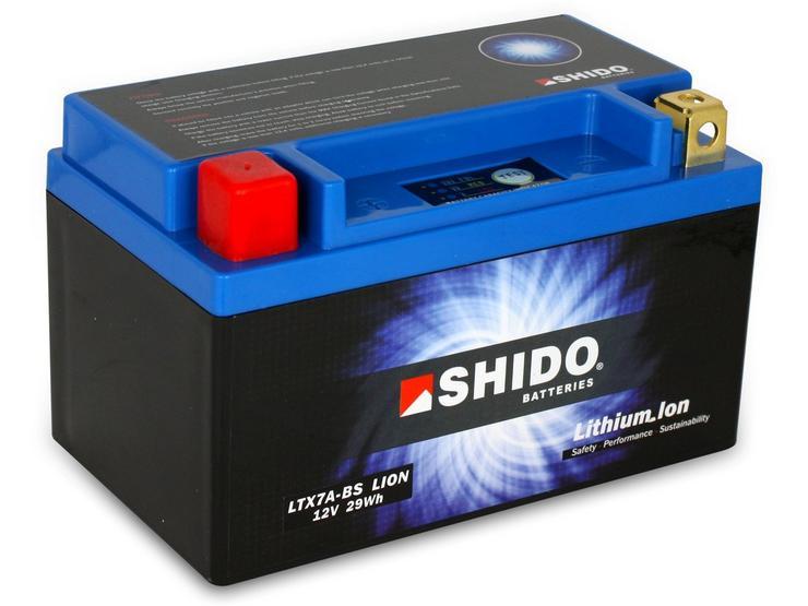 Shido Lithium Battery LTX7A-BS