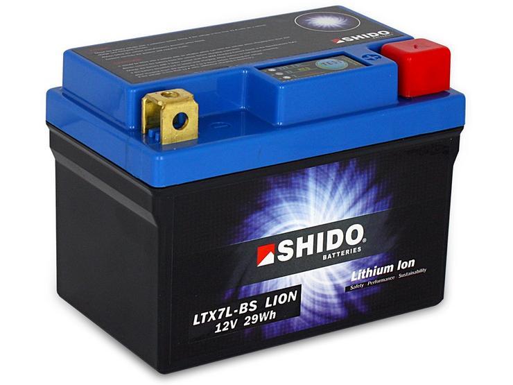 Shido Lithium Battery LTX7L-BS
