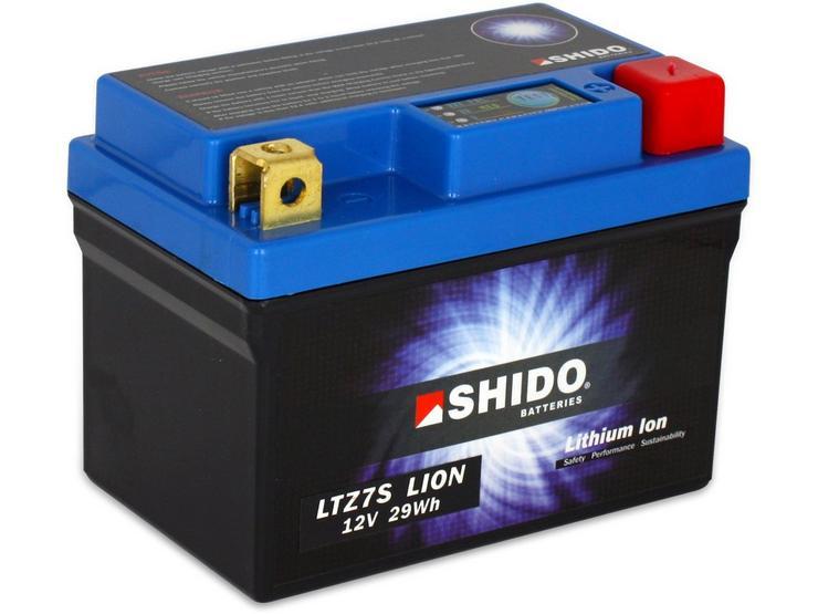 Shido Lithium Battery LTZ7S