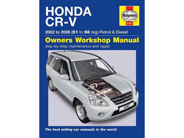 Haynes Honda CR-V (02 - 06) Manual