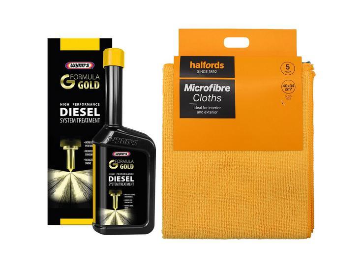 Wynns Formula Gold Diesel Treatment Bundle