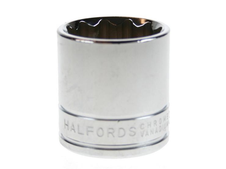 "Halfords Advanced Socket 27mm 1/2"" Drive"
