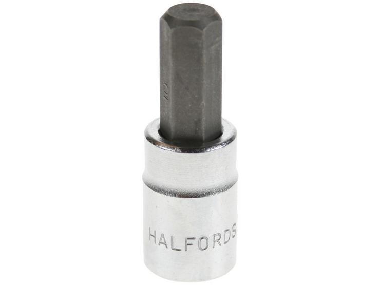 "Halfords Advanced Hexagon Bit Socket 10mm 3/8"" Drive"