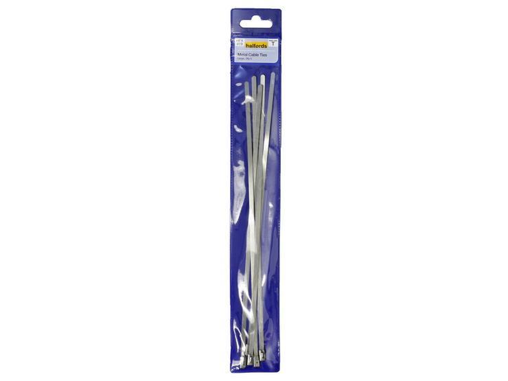 Halfords Metal Cable Ties Large HFX419