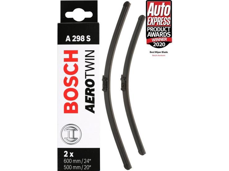 Bosch A298S Wiper Blades - Front Pair