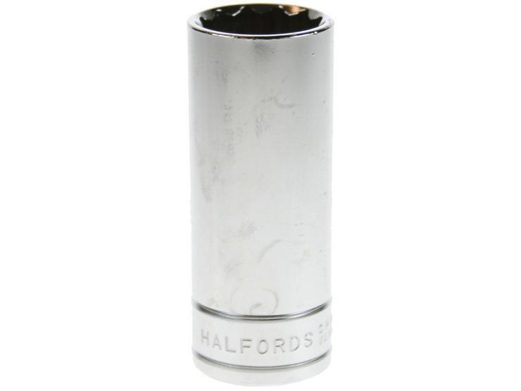 "Halfords Advanced Deep Socket 19mm 3/8"" Drive"