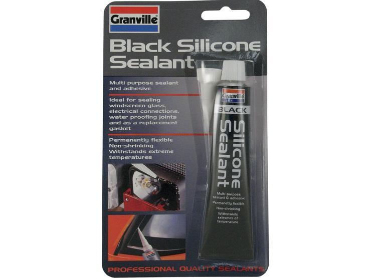 Granville Black Silicone Sealant 40g