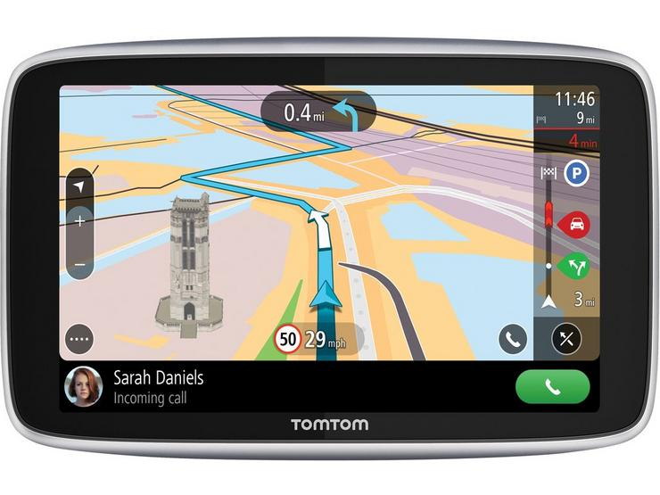 """Tom Tom Go Premium 6"""" Sat Nav with lifetime updates, World maps and Find My Car Feature - Ex Display"""