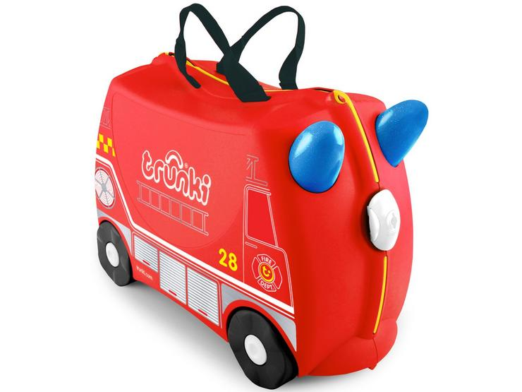Trunki Frank the Firetruck Ride on Suitcase