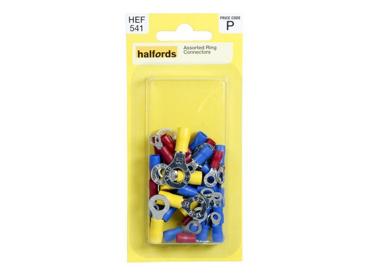 Halfords Assorted Ring Connectors (HEF541)