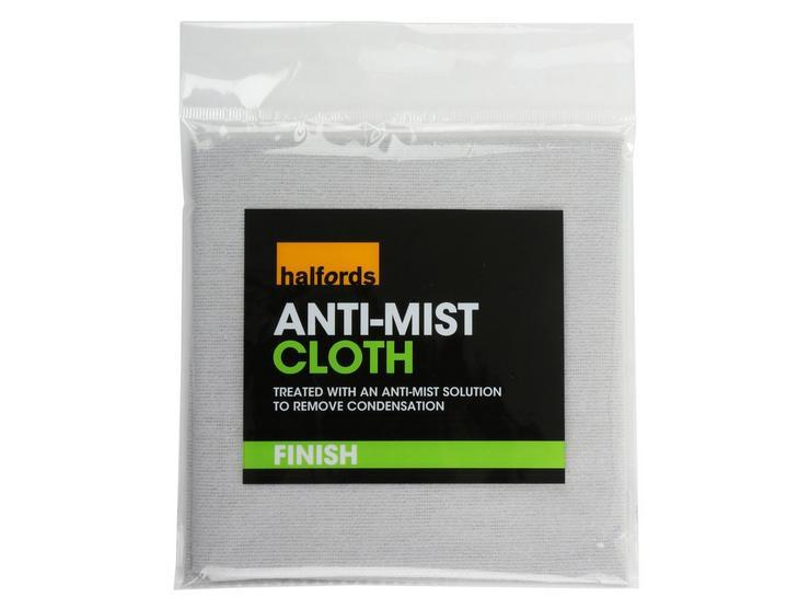 Halfords Anti Mist Cloth