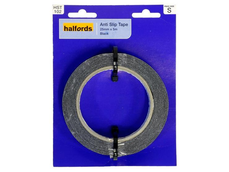Halfords Anti Slip Tape 25mm x 5m