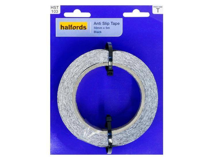 Halfords Anti-Slip Tape 50mmx5m Black