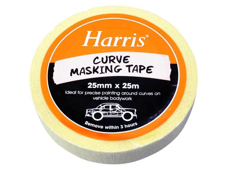 Harris Curve Masking Tape 25mmx25m