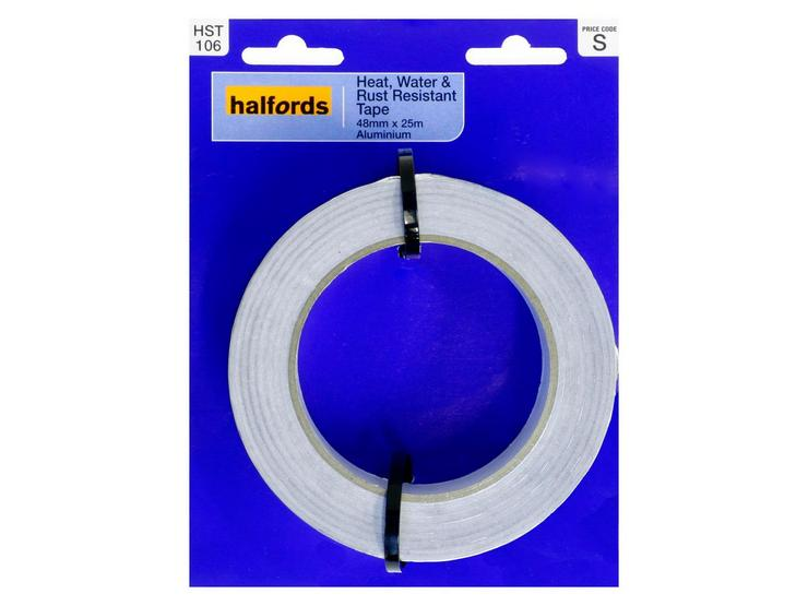 Halfords Heat, Water, Rust Resistant Tape 48mmx25m
