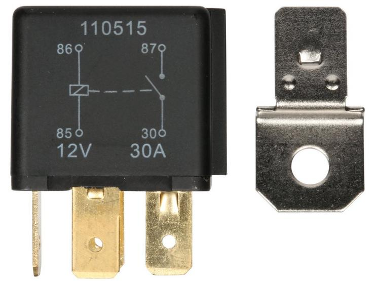 Halfords HEF555 Relay 12V 40A 4 PIN