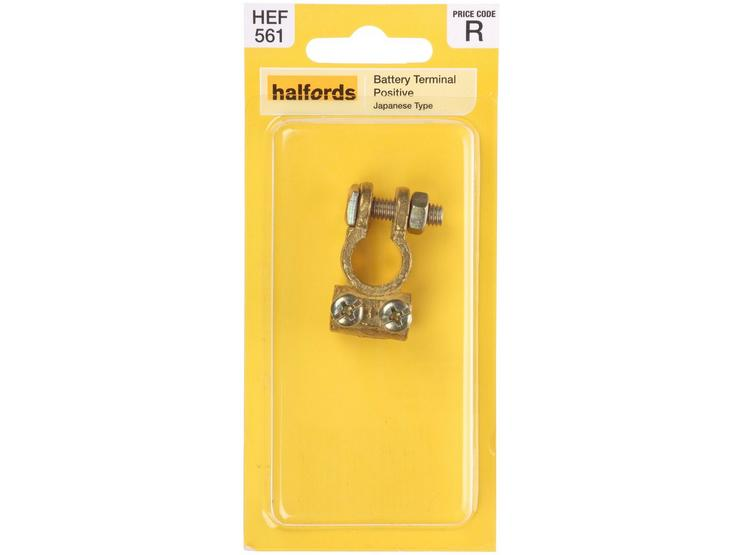 Halfords Japanese Positive Battery Terminal