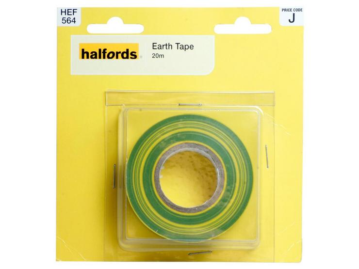 Halfords Earth Tape 20M