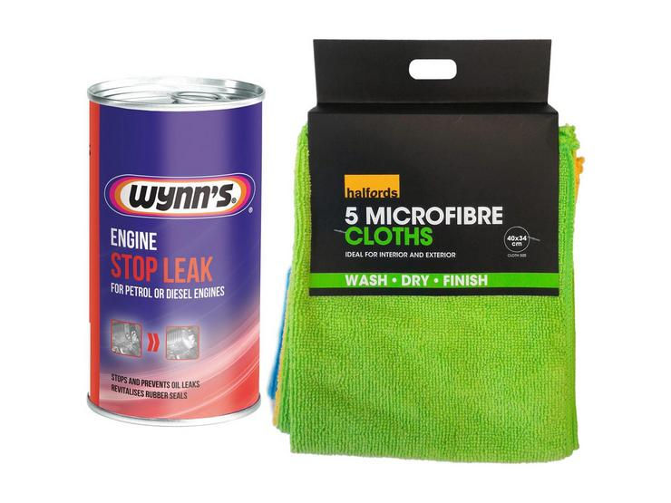 Wynns Engine Stop Leak Bundle