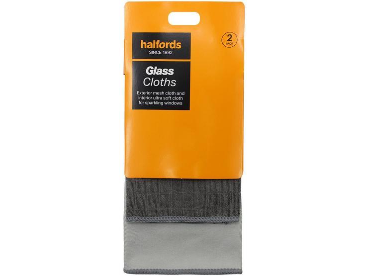 Halfords Glass Cloths - Interior/Exterior