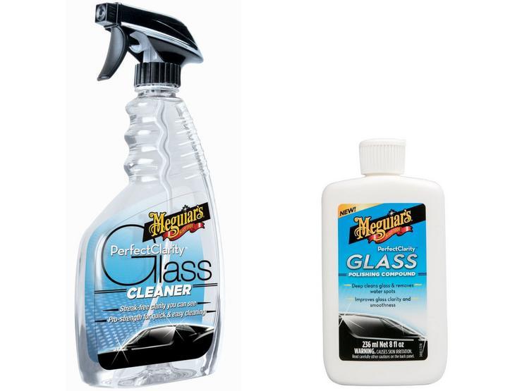 Meguiars Glass Cleaner & Polishing Bundle