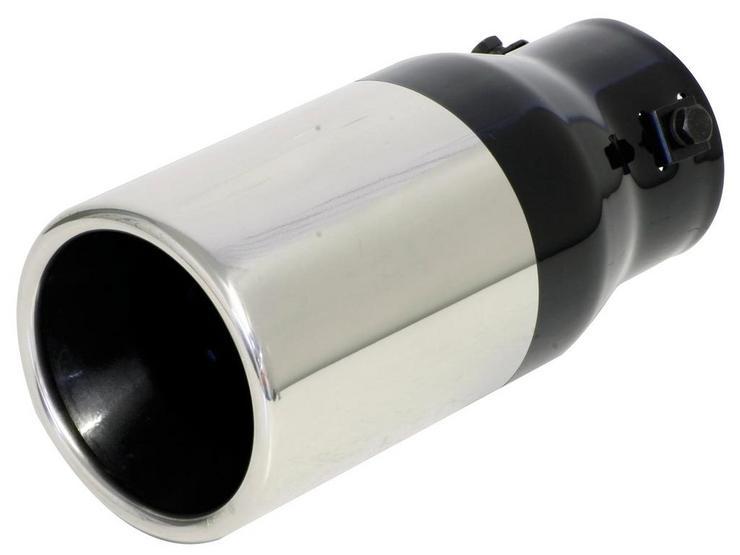 Ripspeed Round/Straight 89mm 42 - 60mm Exhaust Trim
