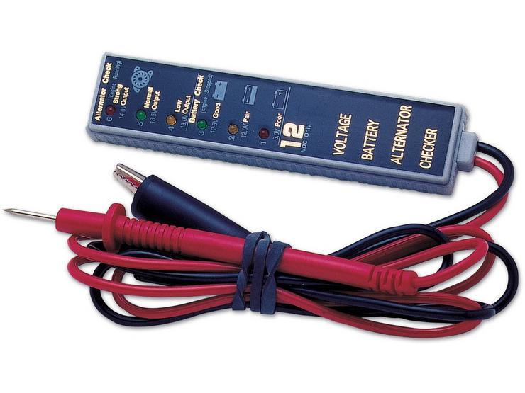 Laser Battery/Alternator Tester