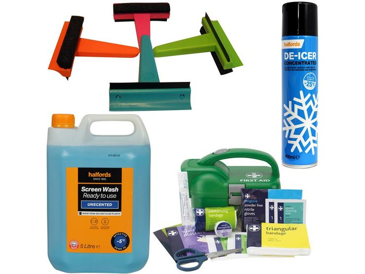 Winter Ready - prepare for anything with -5 Screenwash Bundle