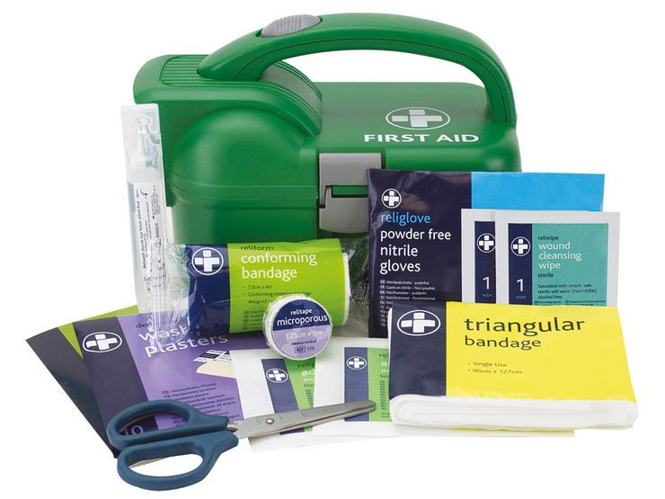 Halfords First Aid and Torch Kit 216686