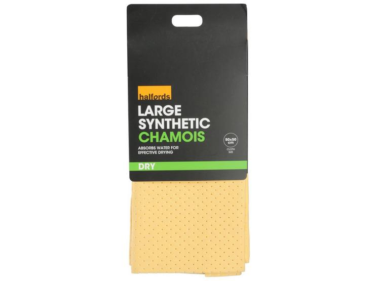 Halfords Synthetic Chamois Leather