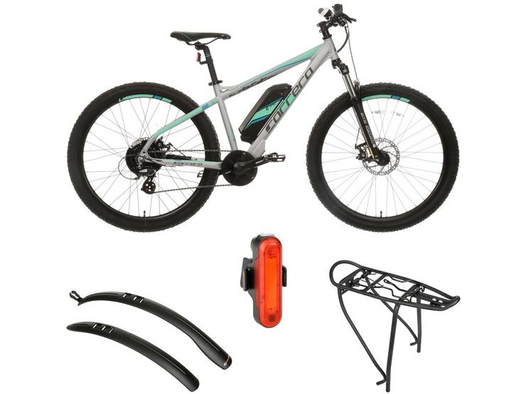 Carrera Vengeance Womens Electric Bike and Must Have AccessoriesBundle