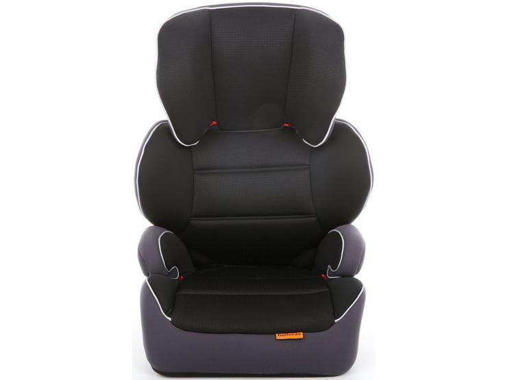 Halfords Group 23 Highback Booster Seat - BLACK