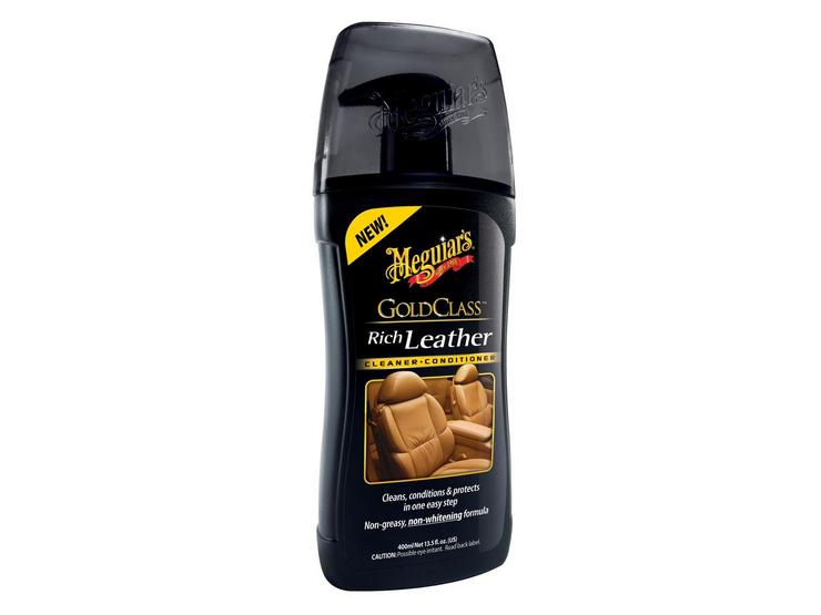 Meguiars Gold Class Rich Leather Cleaner & Conditioner 400ml