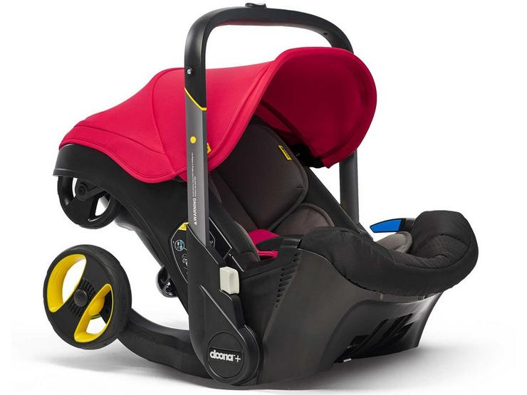 Doona+ Infant Car Seat and Stroller Travel System - Flame Red