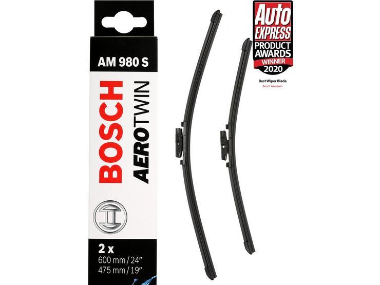 Bosch AM980S Wiper Blades - Front Pair