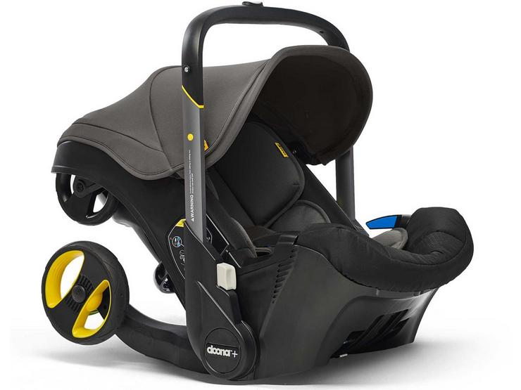 Doona+ Infant Car Seat and Stroller Travel System - Urban Grey