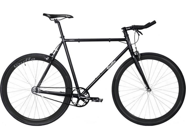 Quella Nero Fixie Bike - 51, 54, 58, 61cm Frames