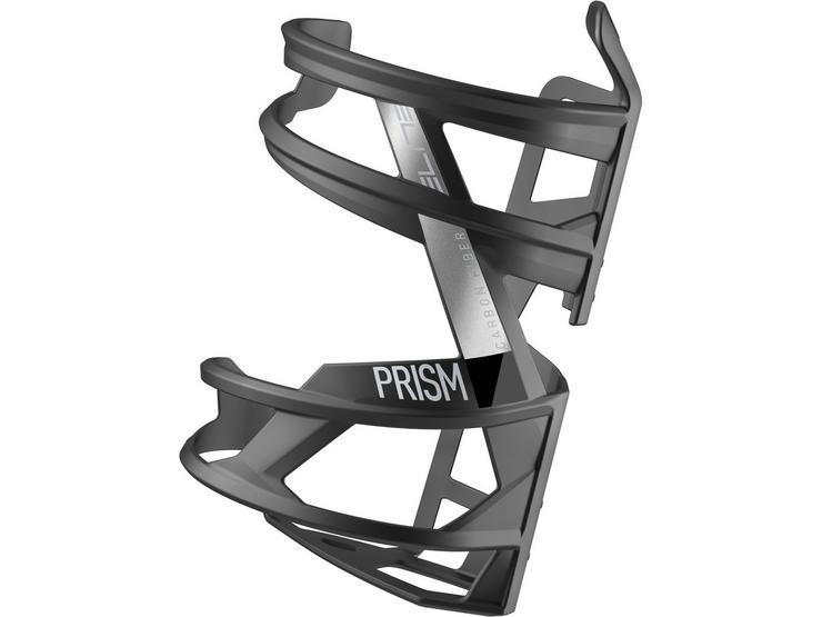 Elite Prism Carbon Left Hand Side Entry Bottle Cage - Stealth