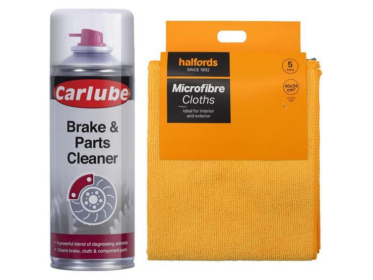 Carlube Brake and Parts Cleaner Bundle