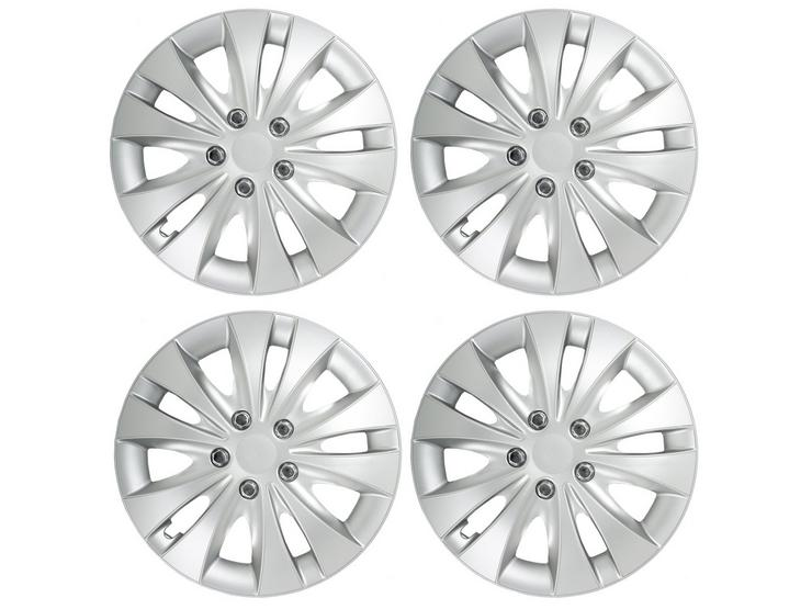"Halfords Atlanta 15"" Wheel Trim - Set of 4"