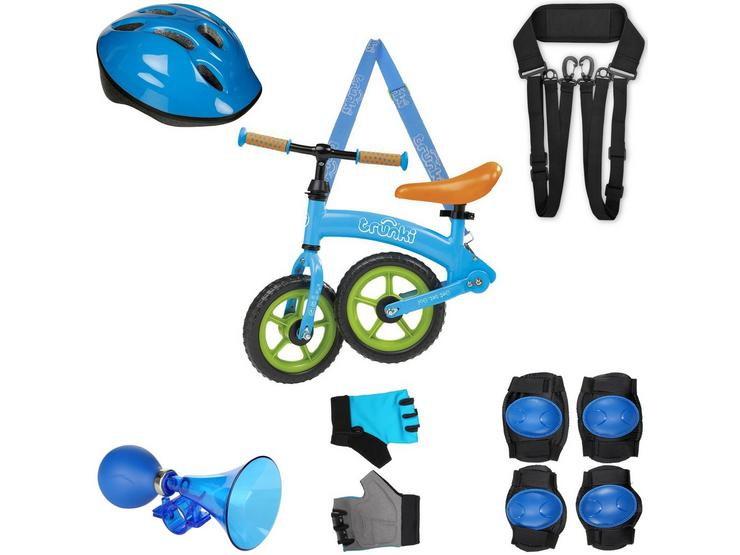 """Trunki Balance Bike Blue 10"""" and your must have accessories"""