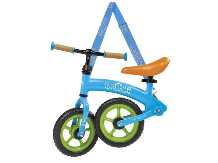 "Trunki Folding Balance Bike - Blue - 10"" Wheel"